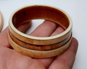 RESERVED for Thomas. Ivory Bangle Bracelet. Authentic. African. Unique. 60mm. Pre Ban.
