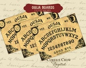 Ouija Boards Digital Collage Sheet - 2 x 2.67 Inches  INSTANT Printable Download