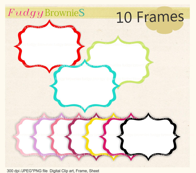 digital clipart frames free - photo #30
