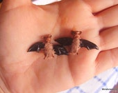 Miniature furry bat