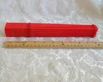 Chopsticks, Plastic ,Vinyl ,20 ,Vintage Never Used,Vintage, NOW ON SALE