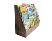 CHILDRENS BOOKCASE / Chocolate Brown Zero VOC Finish/ Other Colors Available
