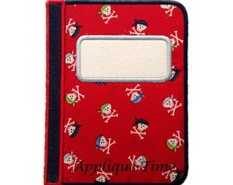 Instant Download Journal Machine Embroidery Applique Design 4x4, 5x7 and 6x10