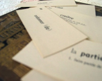 Vintage French Cards
