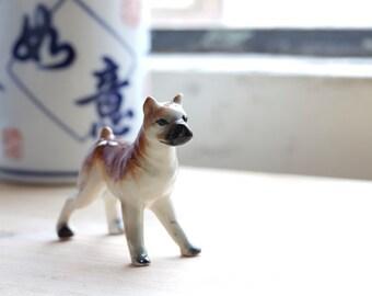 ceramic dog (French Bulldog)