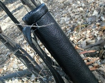 Faux Leather Archers Quiver---- Sturdy and Durable--- Light Weight --- Over the Shoulder Strap
