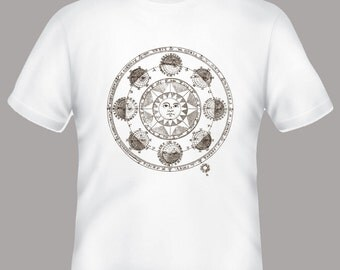 Anciet Astrological Star Sign Adult Tshirt -- other colors available -- Adult sizes S-3XL