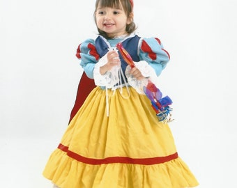Snow White princess halloween kid costume disney custom made FREE SHIPPING childrens sizes 3 thru 8
