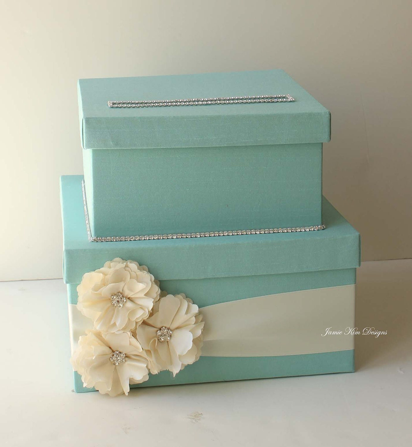 Wedding Gift Box Etsy : Lovely Wedding Card Box Money Box Gift Card Box by jamiekimdesigns