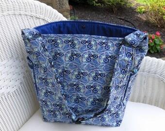 Baby Boy Handmade READY-TO-SHIP Diaper Bag /  Messenger Bag / Cross Body Bag