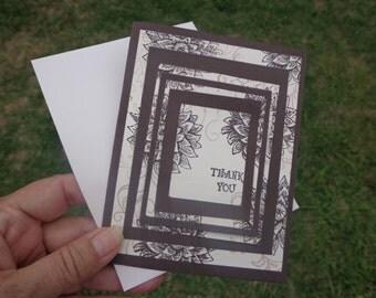 5 Triple Time Stamped DIY card making Kit.