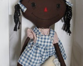 Coupon Code 2BUYBUBBE for 10% off Cloth Doll Raggedy Dotty & Pippi