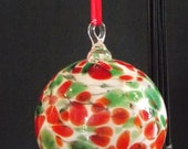 Handblown Glass Ornament