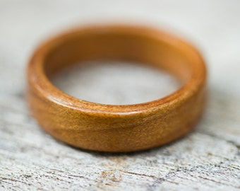 Ancient Kauri Wood Ring - Bentwood Ring - And We Plant A Tree :)
