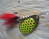 Spinner - Handmade Fishing Lure - Over 1/4oz - Shrimp