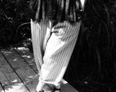 Linen Stripy Beach Trousers