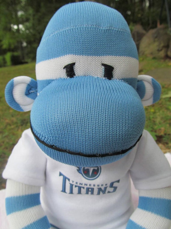 Sock Monkey Doll, Tennessee Titans, football