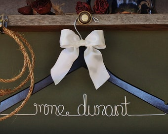 Personalized Wedding Dress Hanger- perfect gift for the bride or bridesmaid