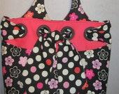 Pink and Black Bag