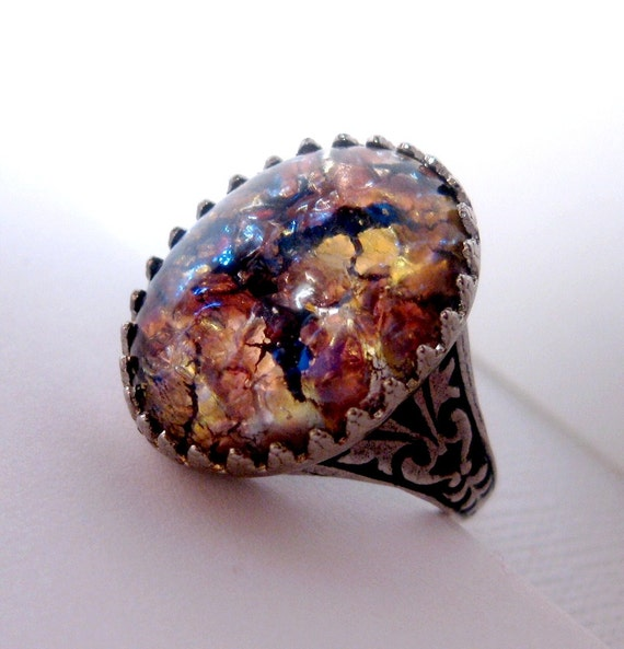 Galaxy Amethyst Ring