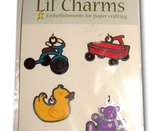 Lil Charms American Traditional Design Embellishments Toy Theme