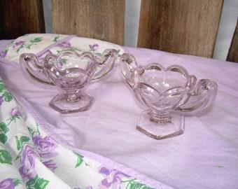 Elegant Purple Lavender Salt Dishes