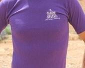 Four Queens - Vintage 80s Retro Purple Las Vegas T-shirt, Artex, Small