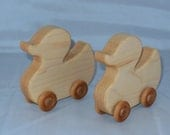Two Cute (& too cute) - Hard Maple - Ducky on Wheels