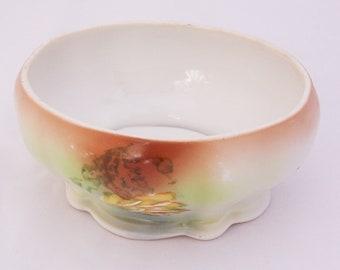Vintage/Antique M Z Austria Bone China Dish, Candy Dish, c 1884-1909, UK seller