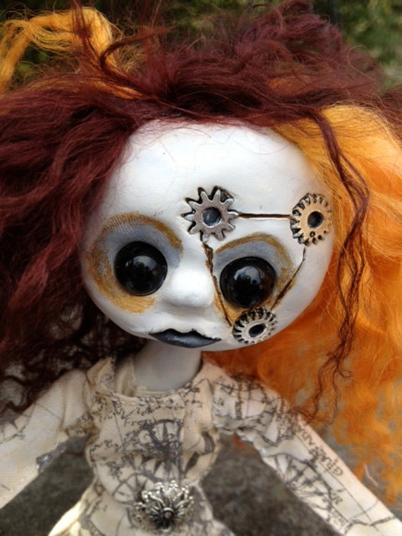 Steampunk OOAK Doll Clementine