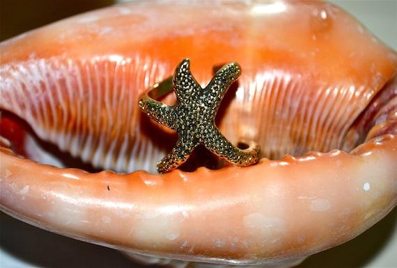 Vintage Starfish Ring
