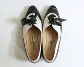 Vintage Hiroko Koshino Oxford Saddle Shoes Size 8 (39)