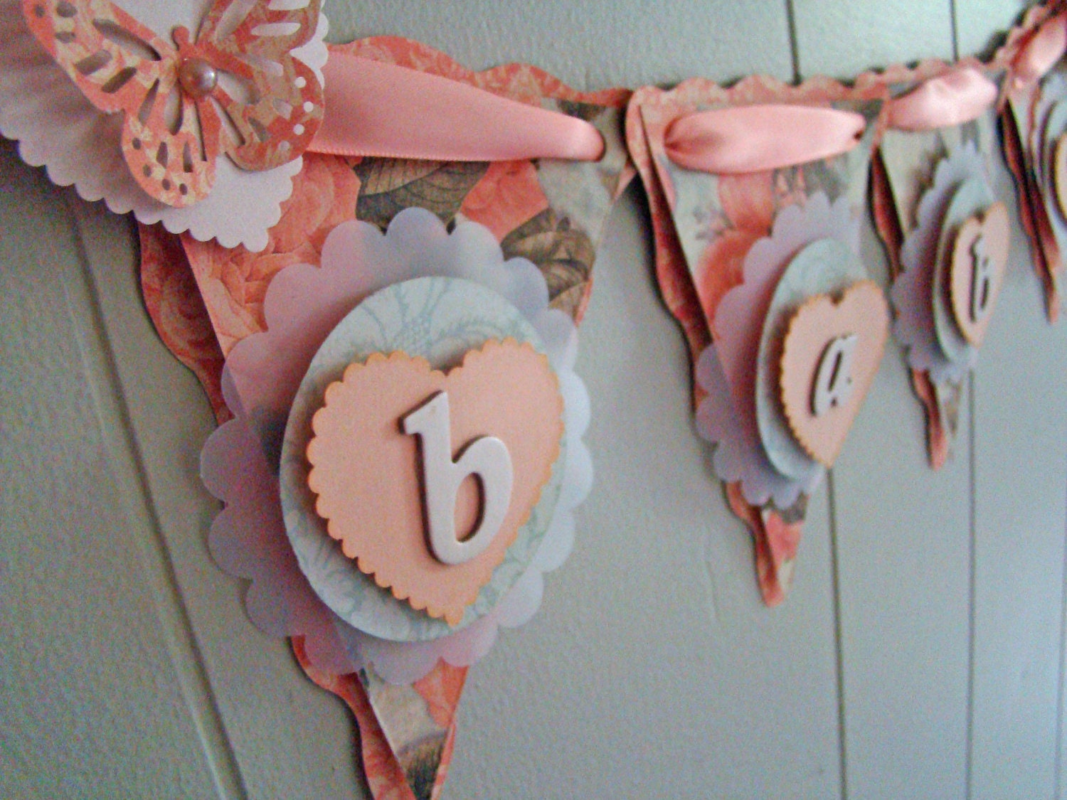 Kitchen dining Baby shower banners