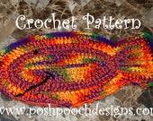 Instant Download Crochet Pattern - Fish Shaped Pet Dog Rug