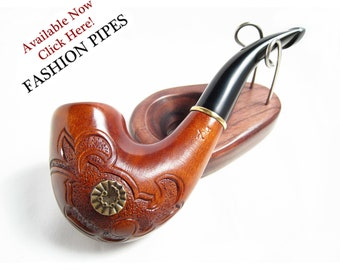 "New Style ""GRIFFIN"" Wooden pipe  Tobacco Pipe/Pipes Smoking Pipes. Handcrafted wooden pipe, Best Price in FPS"