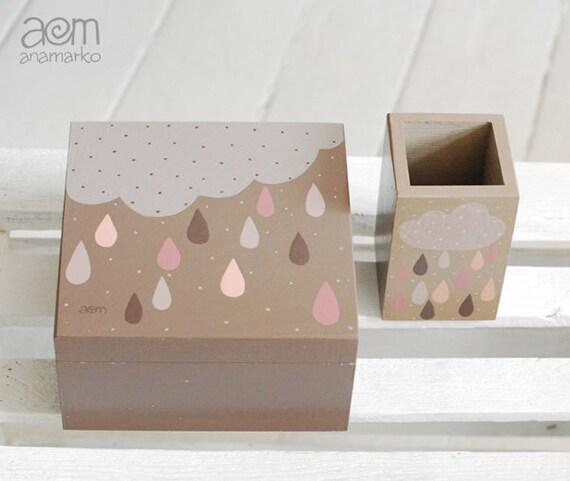 Unavailable listing on etsy - Cajas de madera pintadas a mano ...