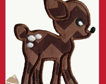 Baby Deer Applique design