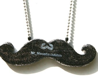 Emergency Fab Moustache - The Glamour Necklace