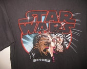 Vintage Rare Japanese Star Wars A New Hope T Shirt Medium