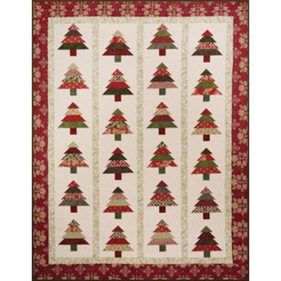 Christmas Tree Table Runner Quilt Pattern: Quilt Table Runner Pattern Tree Lot By Cozy By