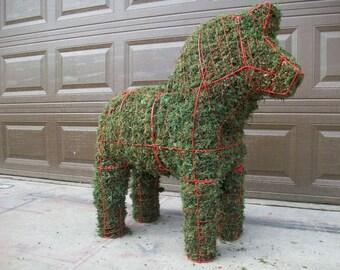 Dala Horse Topiary