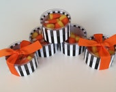 Trick or Treat Halloween  Favor box - Fall Party Favor packaging (200)