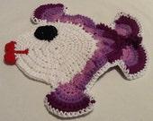 Crochet Fish Pot Holder