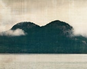 Mountains, Lake, Landscape, Nature, Forest - 8 x10,  Photography Art Print