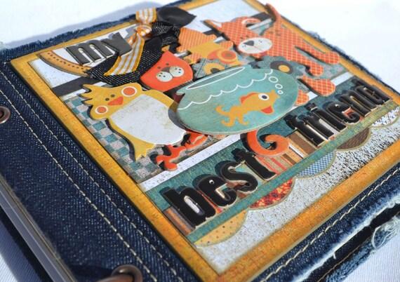 Pet Mini Album Scrapbook Dog Cat Reptile Bird Fish