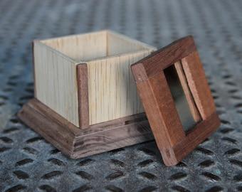 Mirror top Jewlery Box