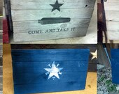 FREE SHIPPING- Rustic Texas - Historic Flag Bundle - 5 Flags