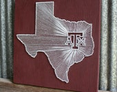 Items Similar To Aggie Pride Reclaimed Wood Nail And