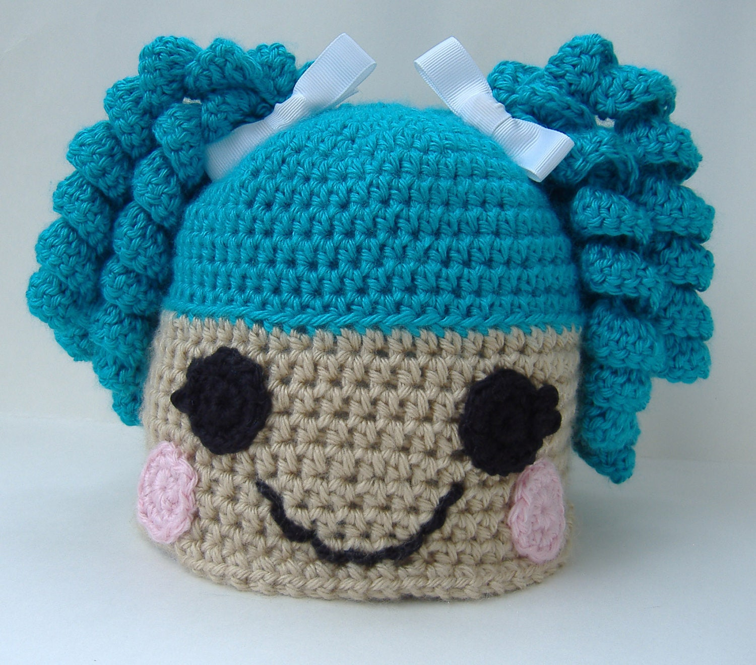 Free Crochet Pattern For Lalaloopsy Hat : Etsy - Your place to buy and sell all things handmade ...