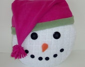 Snowman Pillow - Sale 50% off